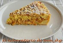 Torta sbrisolona alle mele, ricetta di nonna andromaca  *****  μηλοπιττα τριφτη, συνταγη της γιαγιας ανδρομαχης