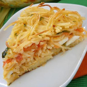 Μακαρονόπιτα με 3 τυριά
