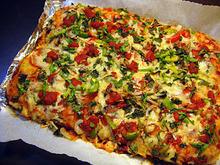 Special σπιτική pizza