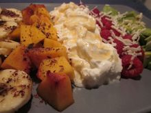 Fruit cobb salad