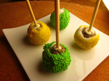 Cake pops: the new cupcake