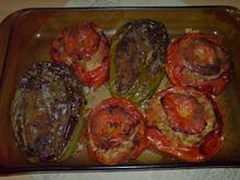 Γεμιστες πιπεριες & τοματες