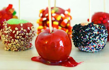 Candy apples - party for children