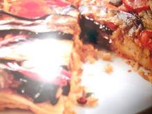 Πολίτικη πίτα με μελιτζάνα και ρύζι