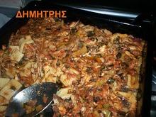Μακαρόνια στο φούρνο με κοτόπουλο