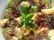 Η μεταμόρφωση μιας απλής σαλάτας βραστών λαχανικών- a new version of boiled veggies salad