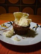 Η κυριακάτικη λιγούρα - ζεστά σοκολατένια μαφινάκια