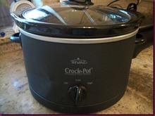 """Το νεο μου """"παιγνιδακι"""" λεγεται crock-pot (slow cooker)"""