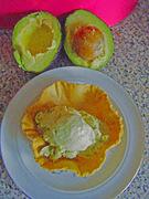 Παγωτό αβοκάντο