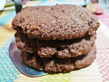 Easy, healthy and tasty cocoa cookie recipe (adapted)