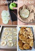Chips λαχανικών και φρούτων!