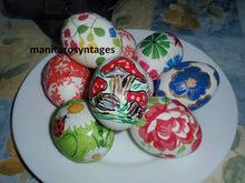 Αυγά διακοσμημένα με την τέχνη της χαρτοπετσέτας...και τους μαρκαδόρους!