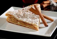 Κυπριακή μηλόπιτα με κανέλα