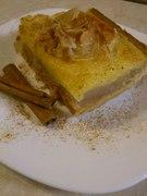 Μηλόπιτα με κρέμα μήλου και κρέμα πατισερί