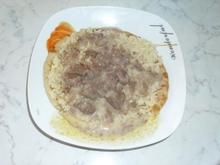 μανσαφ (μοσχαρι με σαλτσα γιαουρτιου)