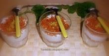Γιαούρτι και λεμόνι με crumble καρύδας ...σ' ένα δροσιστικό γλυκό
