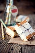 Εύκολο σάντουιτς-παγωτό βανίλια και εικόνες από το food blogger connect - λονδίνο