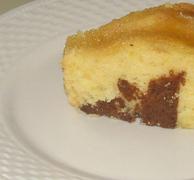 Κέικ λεμονιού δίχρωμο..!