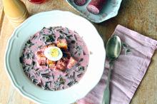 Botwinka - σούπα παντζάρι απο την πολωνία