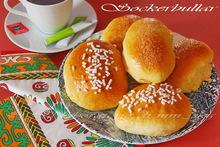 Quanti modi di fare e rifare : sockerbullar o parisenbullar   ♦♦  sockerbullar αφρατα μπριοσακια απο την σουηδια, γεμισμενα με κρεμα