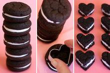 Valentine's oreos cookies