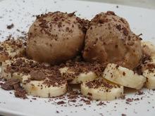Παγωτό με μπανάνα και μερέντα!