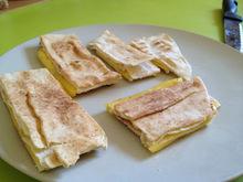 Τοστάκια χωρίς χοληστερόλη - με ελληνικά τυράκια VioLife/VioFree