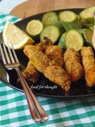 Κοτόπουλο Πανέ στο Φούρνο, Μαριναρισμένο