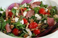 ελληνική σαλάτα αλλιώς/A Different Greek Salad