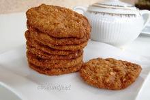 Μπισκότα με κάσιους/ Cashew biscuits
