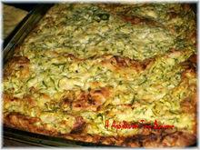 Σουφλέ με αραβικές πίτες και κολοκυθάκια