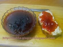 Μαρμελάδα βανίλια φρούτο