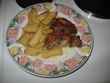 Κουνέλι μαριναρισμένο με πατάτες στο Φούρνο