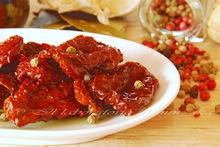 Λιαστες ντοματες στο λαδι με μυρωδικα  **  pomodori secchi sott'olio, agli aromi