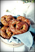 Soft pretzels! για αλλαγή κάτι αλμυρό!