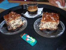 Κέικ με ινδοκάρυδο και σοκολάτα τρούφα ...για το fuit  art cafe  μας!