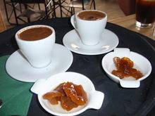 Ελληνικός καφές με γλυκό του κουταλιού ...μανιτάρι!