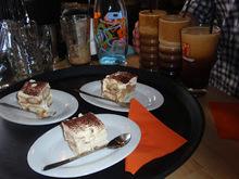 Τιραμισού...με φραπέ  στο  fuit art cafe!