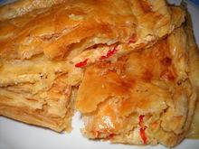 Πίτα (σφωλιάτα) με πιπεριές