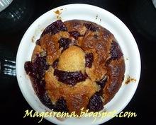 Κεκάκια με φυστίκι και cranberries