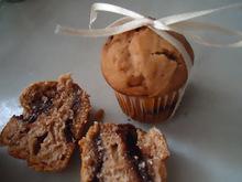 Cupcakes με nutella