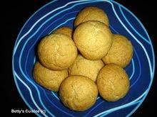 Τραγανά μπισκότα με καρύδα