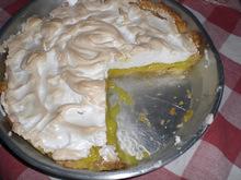 Τάρτα λεμονιού ή lemon pie