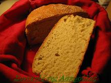 Ψωμί με προζύμι μέρος δεύτερο /στον αρτοπαρασκευαστή