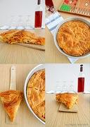 Πιπερόπιτα με χωριάτικο φύλλο!! υπέροχη πίτα με πιπεριές που αξίζει να δοκιμάσετε!!