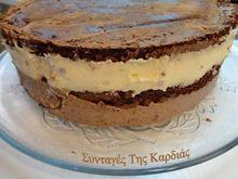 Σοκολατένιο παντεσπάνι για τούρτες