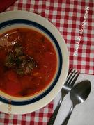 Φασολάδα με καβουρμά... η  άλλη μορφή της κλασσικής σούπας