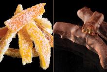 Φλούδες πορτοκαλιού: ζαχαρωμένες και με σοκολάτα