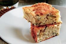 Markella's dead easy courgette and pumkin pie