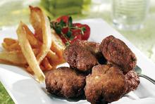 Paros island herbed meatballs (keftedakia)